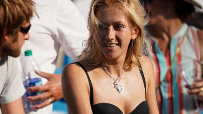 И преди US Open Дария е привличала зрителите и фотографите