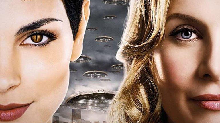 """Играла е рептил  Морена продължава флирта си с научнофантастичния жанр на малкия екран, като за това вероятно помага и екзотичната ѝ визия. Появява се в десетия сезон на поредицата """"Старгейт"""" (Stargate SG-1), която беше излъчвана и в България, а след това ѝ във филма Stargate: The Ark of Truth. Първата ѝ наистина главна роля обаче е в сериала V (2009-2011 г.). Римейк на стар фантастичен сериал, V разказва за извънземна раса от гущероподобни същества, маскирани като хуманоиди, които идват на Земята с обещание за мир, но всъщност имат много по-коварни планове. Бакарин е в ролята на Анна - лидерът на Посетителите, която - както се досещате - също е рептил."""