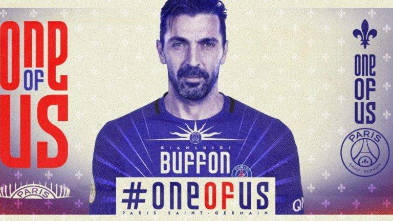 Славната кариера на Буфон ще продължи във френския шампион