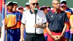 Реймънд Муур напусна поста на директор на турнира BNP Paribas Open в Индиън Уелс