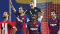 Барса измъкна труден мач и отново чака отговора на Реал