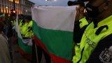 Осем са задържаните на вчерашния протест в София