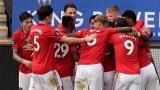 Юнайтед постави рекорд по дузпи и се класира за Шампионската лига