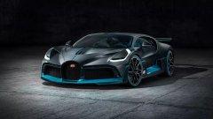 Новият спортен автомобил е базиран на Bugatti Chiron и същевременно е по-бърз, но и по-бавен от него. Как обаче се получава така?