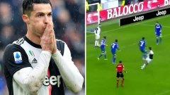 Роналдо отново лиши Дибала от гол (видео)
