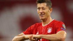 Левандовски покори върха с две отличия от УЕФА