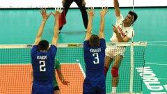 България завърши на трето място в група С1 с точка по-малко от втория Русия. Първи е тимът на Франция с пълен актив от 9 точки.