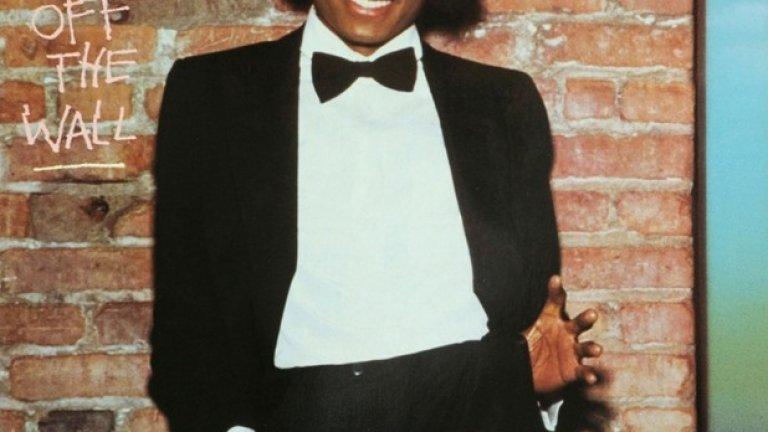 Michael Jackson – Off the Wall (1979)  Лъчезарният Майкъл Джексън е готов за танци и от този кадър личи, че иска да покани и вас с него.