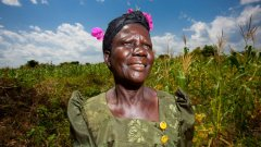 Заради кладенеца, който вече има селото й, Хелен Апио не върви по 4-5 км на ден, за да осигури вода на семейството си