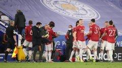 Лестър унищожи Юнайтед за ФА къп