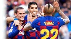 Суарес вече е трети в цялата история на Барселона