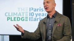 Шефът на Amazon дарява 10 млрд. долара за каузата