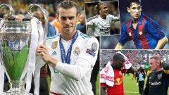 """""""Daily Mail"""" излъчи класация на десетимата най-добри британски футболни """"легионери"""", която е доста любопитна.  Вижте в галерията."""