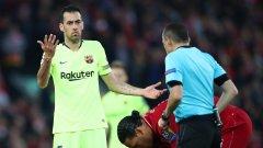 Как обратът на Ливърпул срещу Барселона запуши устата на Серхио Бускетс в социалните мрежи