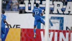 Найджъл Робърта отбеляза третия си гол от началото на сезона
