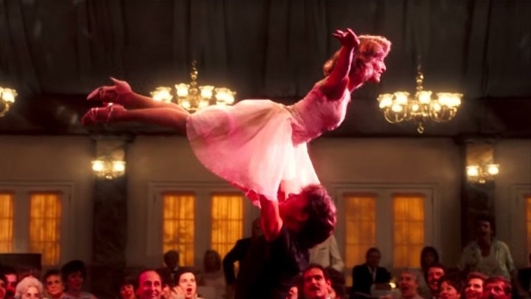 """Дженифър Грей в """"Мръсни танци"""""""