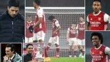 Артета води Арсенал само от една година, но вече измина пътя от триумфа за ФА Къп до най-слабия старт на сезон от 46 години