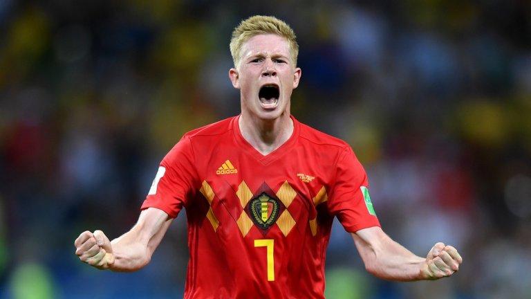 Де Бройне вкара гола, който в крайна сметка се оказа победен и прати Белгия на полуфинал