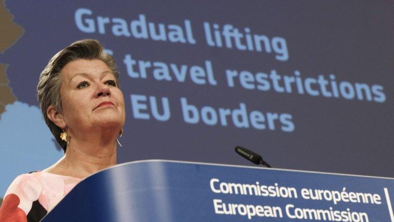 За държави извън Общността според ЕК границите трябва да останат затворени до края на месеца