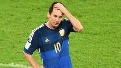 Меси призна, че Аржентина е загубила заради пропуските на нападателите на тима
