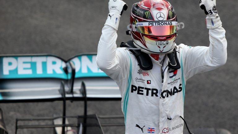 Люис Хамилтън постигна втора победа в кариерата си в Мексико