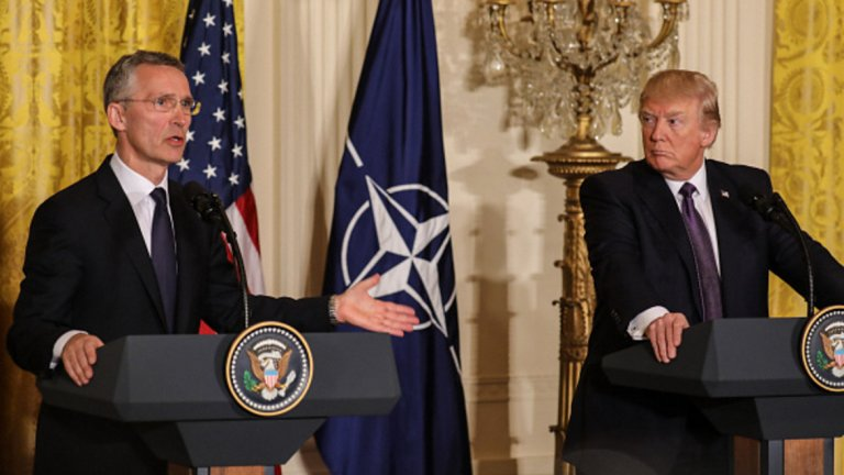 """Откри ли Йенс Столтенберг приятел в лицето на Тръмп? """"Шпигел"""" задава този въпрос на генералния секретар на НАТО..."""