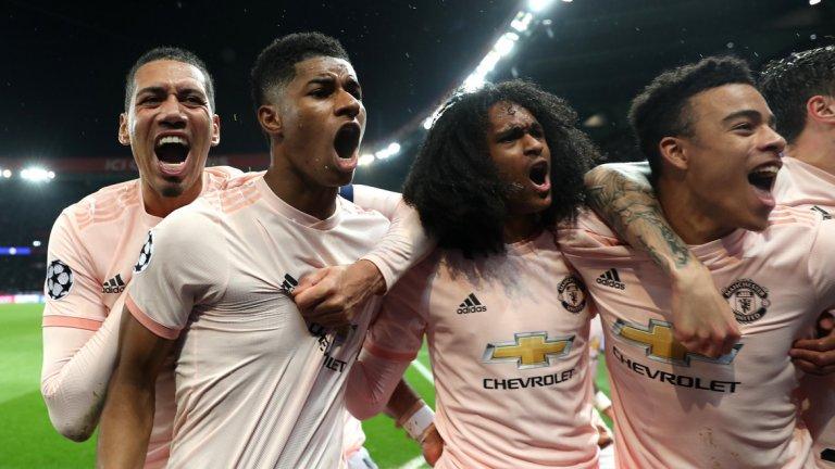 Юнайтед успя да навакса двата гола пасив в крайно осакатен състав, попълнен от таланти от академията като Тахит Чонг и Мейсън Грийнууд
