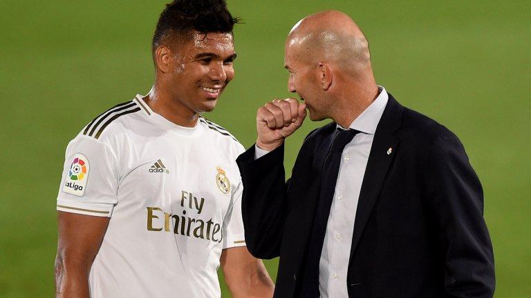 Зинедин Зидан е на крачка от това да изведе Реал Мадрид до нова титла в Испания