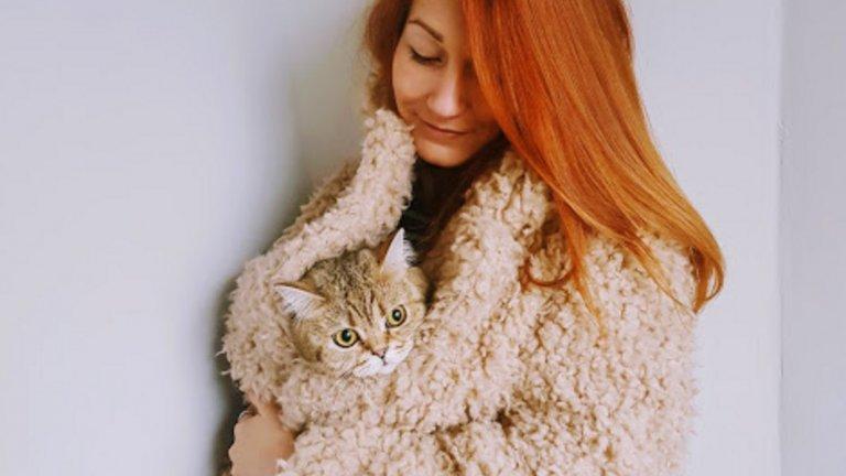 Хрис Караиванова и нейната британка Фифи