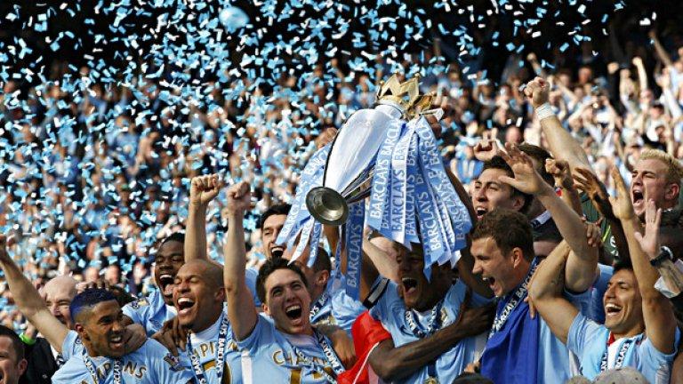 За 7 години в Сити Abu Dhabi United Group може да се похвали с две титли на Англия, ФА къп и Купата на Лигата.