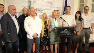 """Според Мая Манолова в предложения от партията на Слави вариант на МС липсват """"смели, почтени, доказани професионалисти"""""""