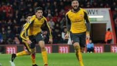 Фенове на Арсенал отново намериха кусури на Жиру