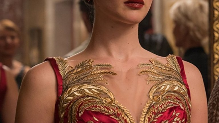 """Дженифър Лорънс за """"Червената лястовица"""" (2018) - 15 милиона долара"""