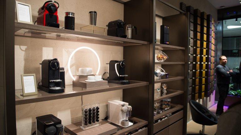Първи бутик на Nespresso в България отвори врати