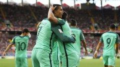 Португалците не впечатлиха с нищо, но голът на Роналдо в 9-ата минута беше достатъчен срещу доста беззъбата Русия