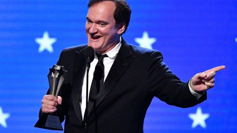 """Куентин Тарантино има причина да е доволен. Неговият """"Имало едно време в Холивуд"""" беше обявен за най-добър филм по време на кино наградите """"Изборът на критиците"""". Ето ги и всички победители:"""