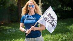 Надя Младенова се включва активно с нейните групи и признава, че смята да бяга по 5 км всеки ден до края на кампанията Run for the Oceans.