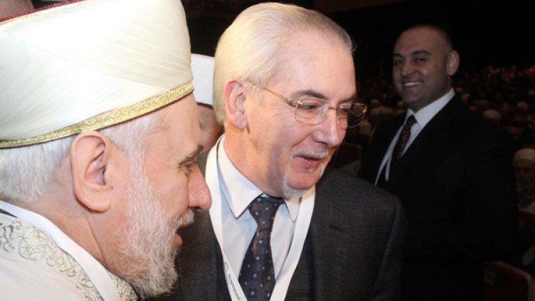 Лютви Местан беше сред гостите на Мюсюлманската конференция за избор на нов главен мюфтия