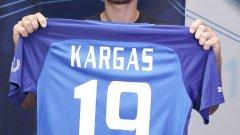 Янис Каргас ще носи фланелката с №19 на гърба