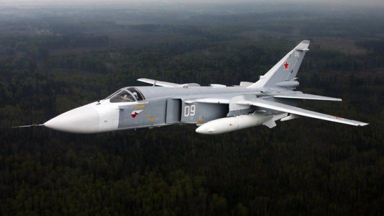 Турция и Русия се разминават по въпроса дали Су-24 е нарушил турското въздушно пространство, преди да бъде свален