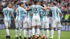 Аржентина излезе от групите с пълен актив от 9 точки след три поредни победи и на 1/4-финалите ще срещне Венецуела