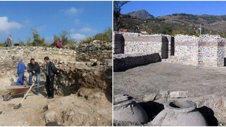 """Крепостта """"Туида"""", Сливен – 5.5 милиона лева    Една от трите """"новооткрити"""" крепости през декември м.г. е """"Туида"""" край Сливен, датираща от IV век и активно населявана до XIII век като религиозен център и важно укрепително съоръжение.    Въпреки че археологическите проучвания още продължават във вътрешността на крепостта, защитните й стени бяха възстановени до 2.2 метра височина и официално отворени за посетители.   """"Крепостта """"Туида"""" е един обект от 42 декара и създава прекрасна възможност за удовлетворяване и на най-развинтената фантазия на всеки музеен или културен работник. Там освен, че тепърва можем да правим разкопки и да откриваме още артефакти от древността, има възможности за създаване на уникални атракции, както и за отдих и доближаване до древната култура"""", похвали се кметът инж. Кольо Милев пред местната онлайн агенция Сливен.   И се оказа напълно прав.   Макар да се слави с уникален за региона баптистерий - помещение за кръщаване, и с предполагаем храм на Зевс, """"Туида"""" предлага интригуващата опция на туристите да се облекат като воини от Средновековието (византийски или български) или да разгледат оръдия, снаряжение и облекло от този период. Ще има и възстановки на битки, включително с катапулти, както и парк да отдих с традиционна скара.   За по-изтънчените посетители е изграден е амфитеатър с капацитет около 400 седящи места и две сцени. """"Закупена е експозиция на бойна техника и снаряжение, макети на воини в цял ръст, облекла, озвучителна и прожекционна техника"""", стана ясно още при приключването на проекта.   Неговото име звучи също толкова загадъчно : """"Пътуване през времето, във времето и с времето - интегриран проект за развитие на природни, културни и исторически атракции и туристическа инфраструктура в Сливен"""".   Плановете са """"Туида"""" да е новият Царевец, а Сливен да се превърне в изследователски център на миналото и етнографията.   Дейностите бяха спрени през 2013 г. след серия забележки на Министерството на културата, сред тях и недопустимо изгра"""