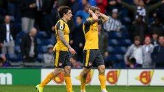 Арсенал загуби и остава на пет точки от топ 4