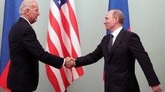 Това е първата среща на двамата президенти