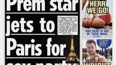 """Информацията гласи, че футболистът, чието име остава неназовано, е летял с частен самолет до френската столица. Там той е бил деен участник в шумно събиране в ресторант на """"Шанз-Елизе"""", а след това и в оргия."""