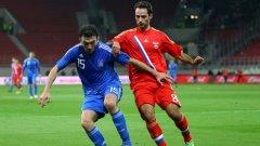 Роман Широков откри резултата за Русия в контролата в Гърция ноември миналата година, завършила 1:1