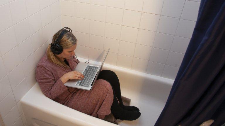 Явно имаме да узряваме за идеята, че работата от вкъщи не означава почивка