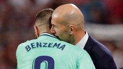 Зидан избухна: Бензема е най-добрият френски нападател на всички времена