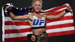 Холи Холм - новата шампионка до 61 кг в UFC