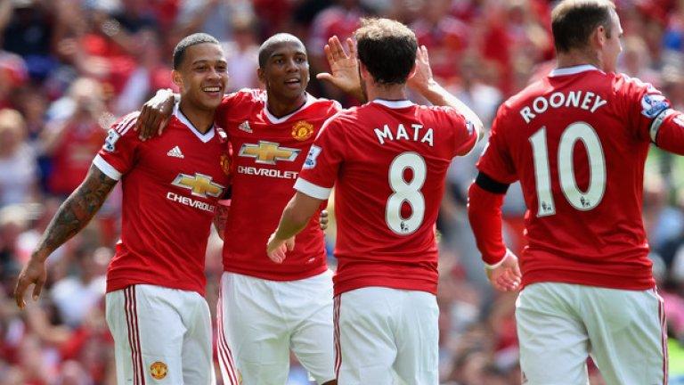 Дясно крило/офанзивен полузащитник: Хуан Мата (Манчестър Юнайтед)